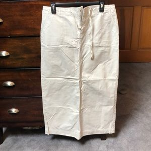Old Navy long cotton skirt. Never worn! Size 10.